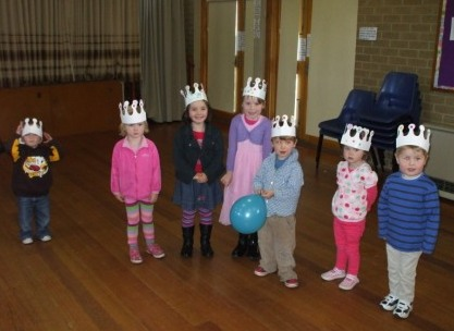 Party hat parade